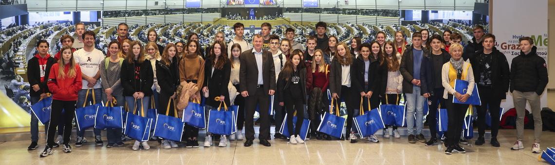 Besuch des Europaparlaments in Brüssel