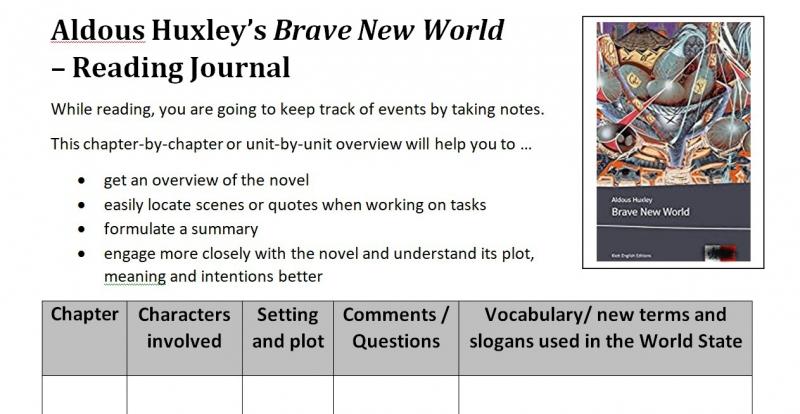 Reading Journal LK Englisch