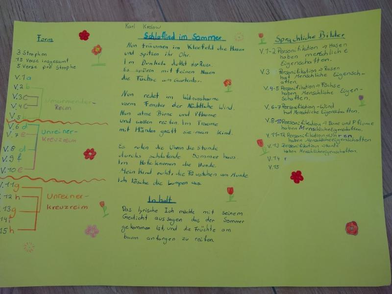 Gedicht Amy 5b