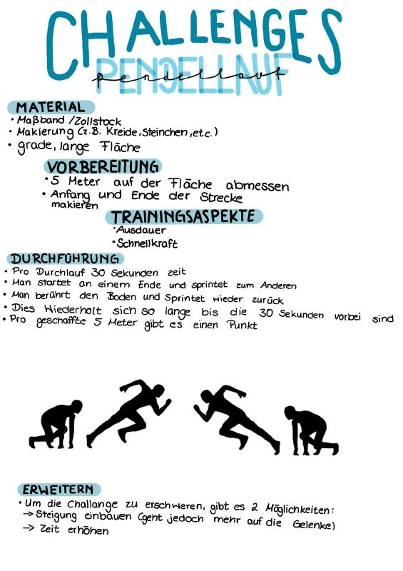 Sport Challenge Ina